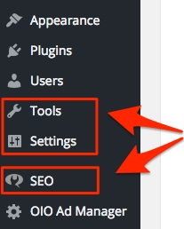 screenshot indicating where the settings are for a plugin