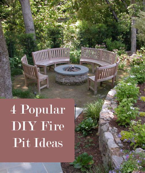 4 Popular DIY Fire Pit Ideas - How To Build It on Backyard Fire Pit Ideas Diy id=82659