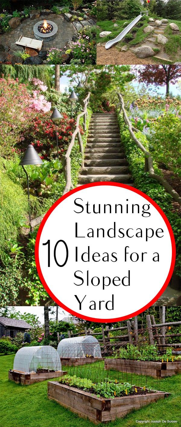 Slope Yard Landscaping Ideas- Backyard, Landscape, and ... on Backyard With Slope Ideas  id=80939