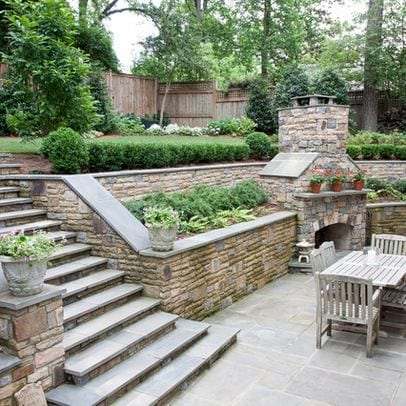 10 Stunning Landscape Ideas for a Sloped Yard | Page 2 of ... on Backyard With Slope Ideas  id=23866