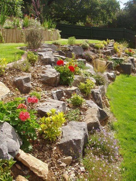 Slope Yard Landscaping Ideas- Backyard, Landscape, and ... on Sloped Backyard Design id=71254