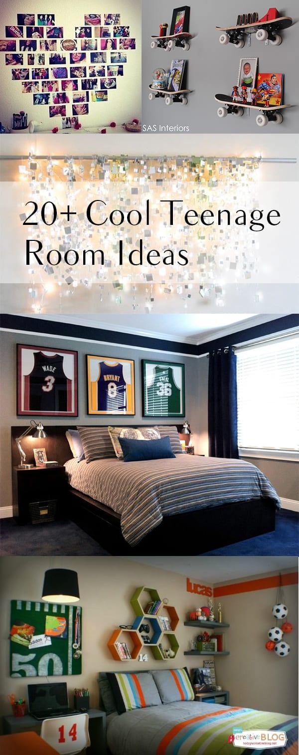20+ Cool Teenage Room Decor Ideas on Teenage Room Decoration  id=99910