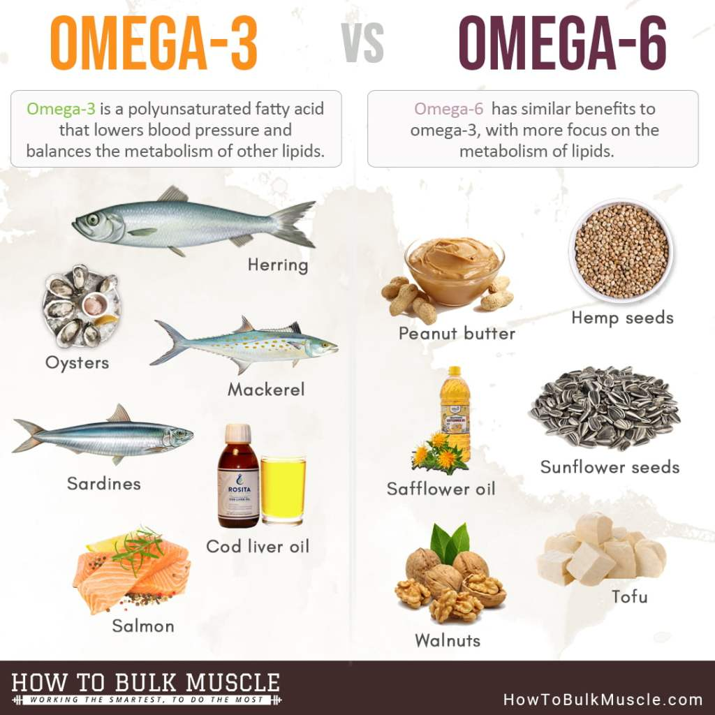 omega 3 fish oil sources vs omega 6