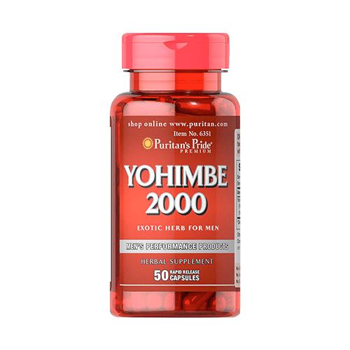 Puritan's Pride Yohimbe 2000 - 2 mg
