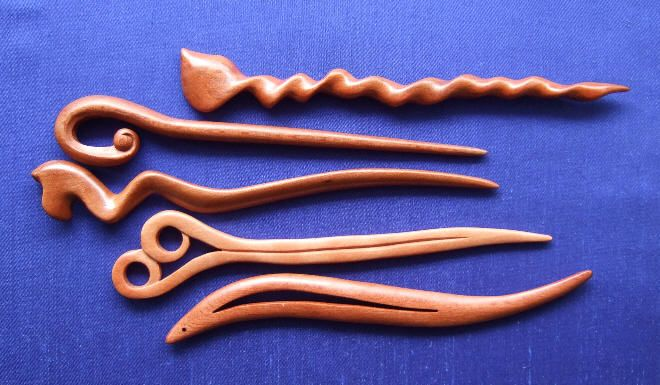 Hand Carved Wooden Letter Openers
