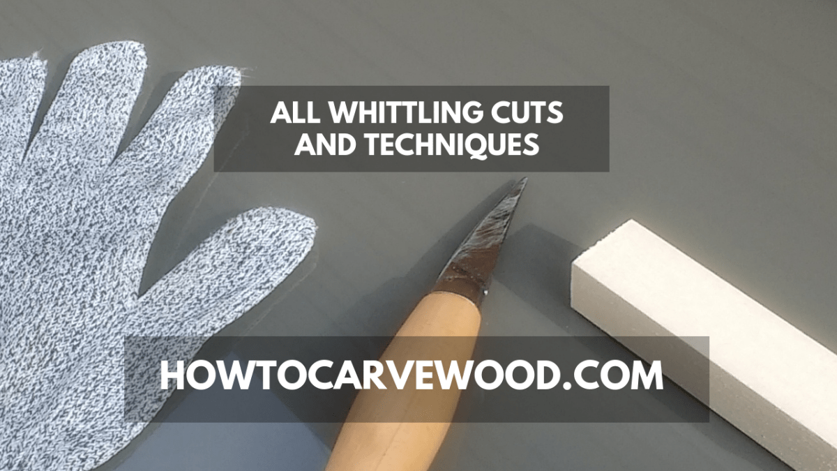 How to Carve Wood - ALL Cuts and Techniques