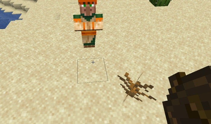 how to move villagers in minecraft bedrock