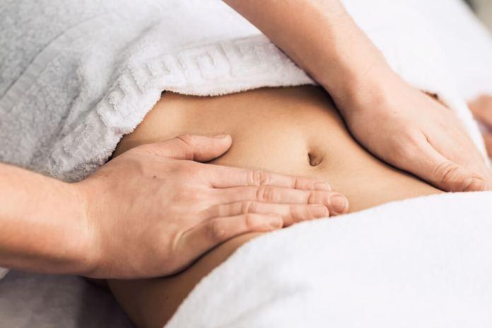 abdominal massage therapy