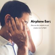 how to get rid of airplane ear