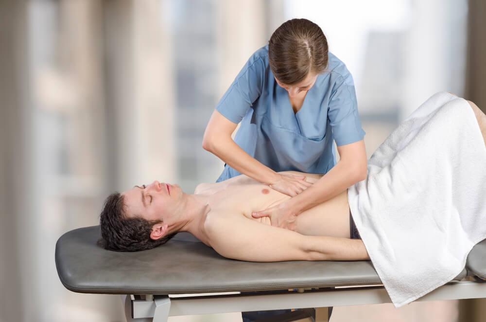 massage for liver