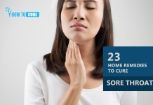 How to Cure Sore Throat with 23 Home Remedies