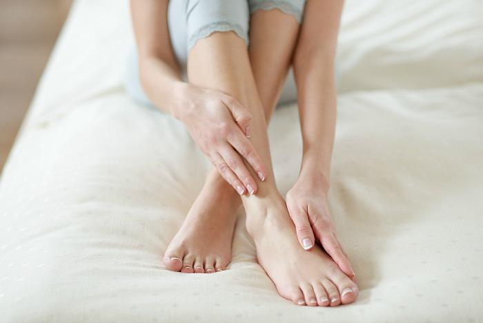coconut oil massage for Restless Legs