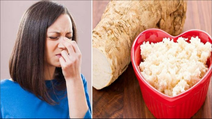 horseradish for cure of sinus infections