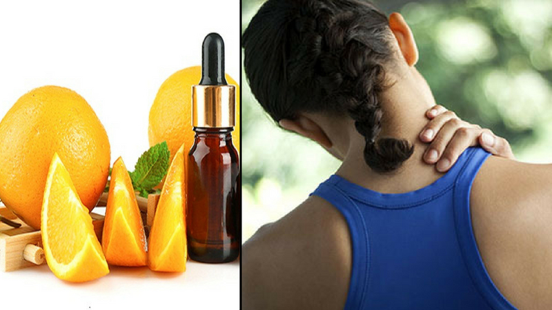 benefits of wild orange oil for the cure of spasms