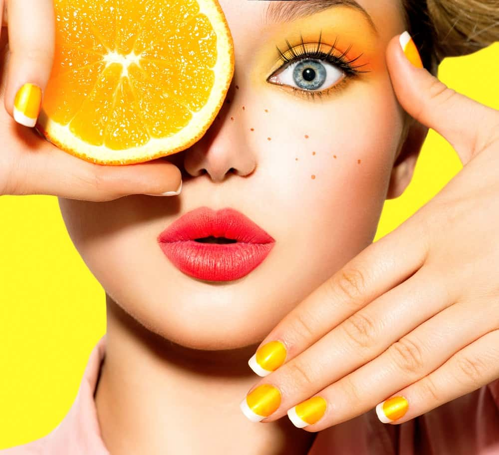 orange oil for skin
