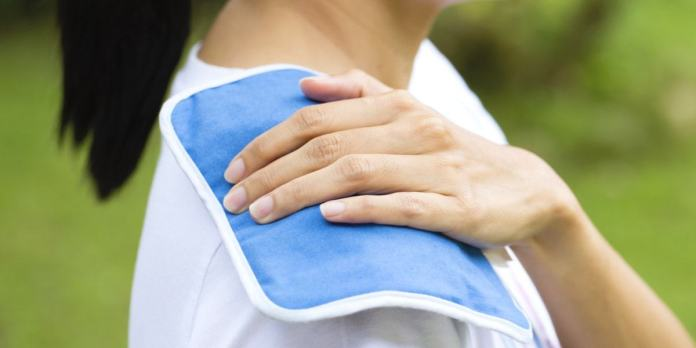 Ice Pack for How to Get Rid of Neck Pain from Sleeping Wrong