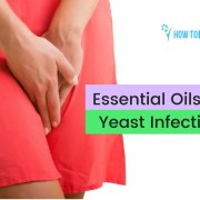 essential oils for yeast infection -