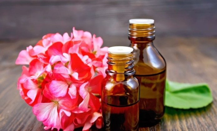 geranium oil for cough