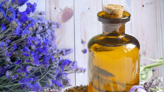 get rid of anxiety with lavender oil