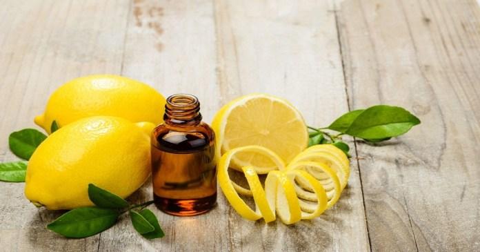 lemon essential oil for fever