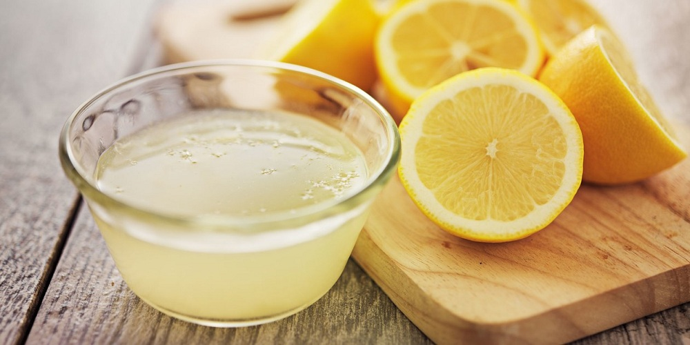 lemon juice to remove stretch marks