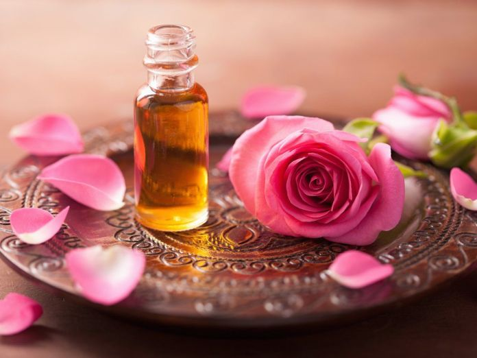 treat anxiety with rose oil