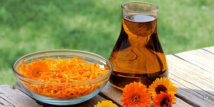 calendula oil for rosacea