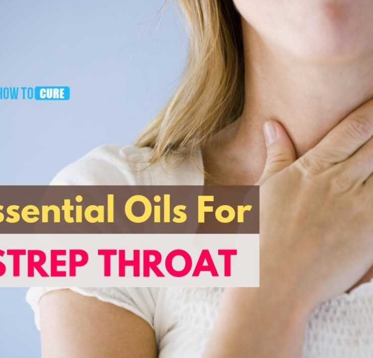 essential oils for strep throat