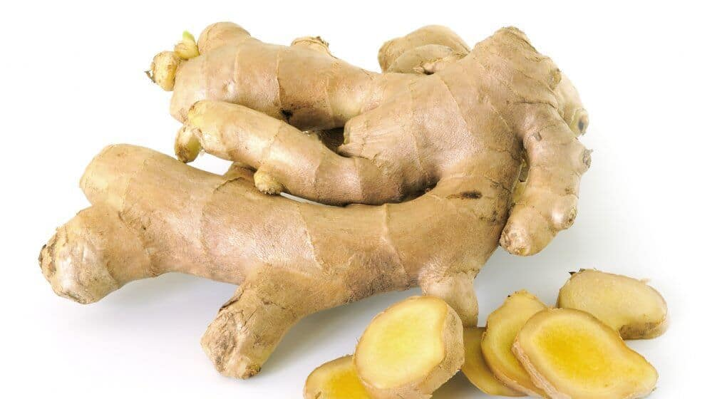 ginger oil for a sore throat