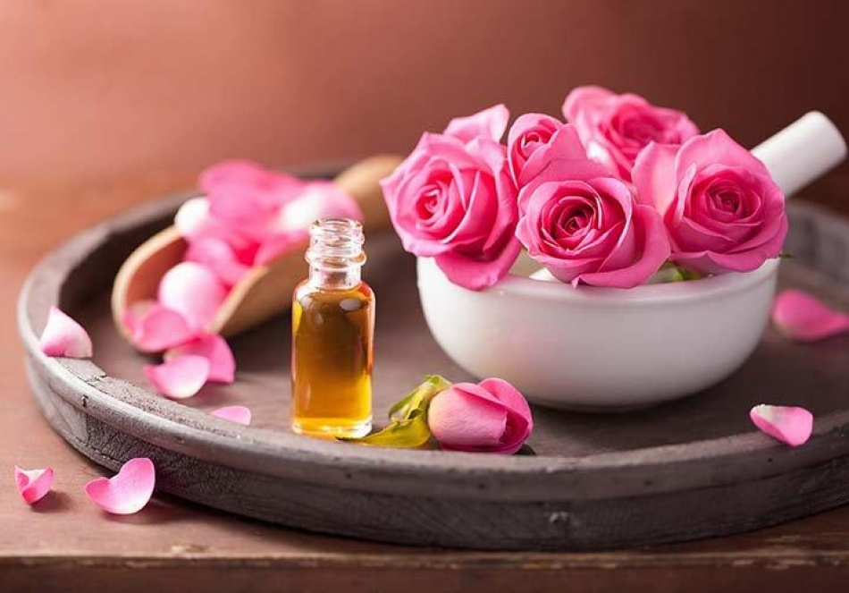 rose oil for stress