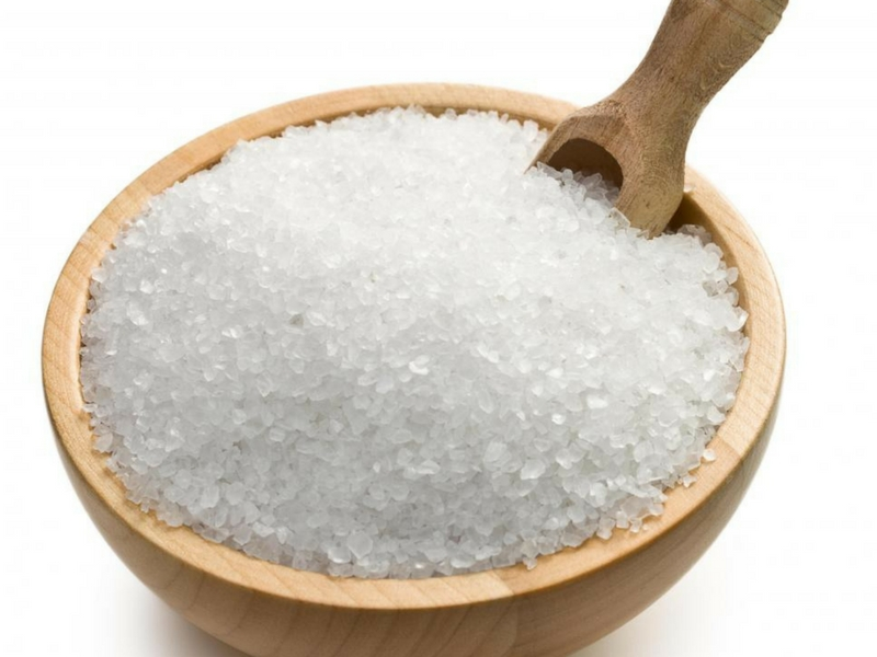 epsom salt bath for treating warts