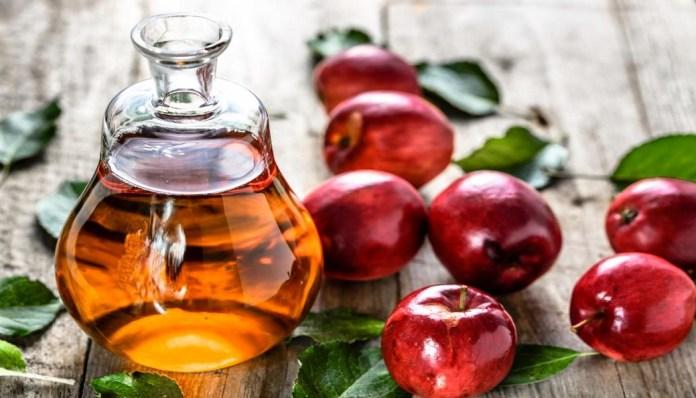 apple cider vinegar for get rid of chest acne