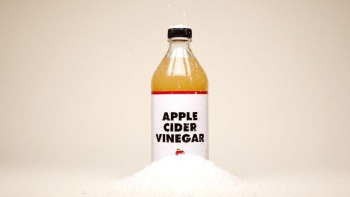 apple cider vinegar to reduce aging