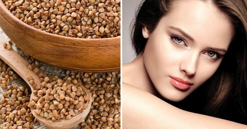 beautiful skin with buckwheat