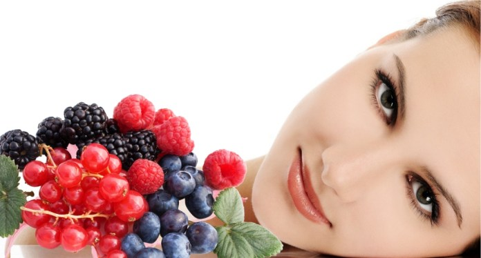 berries bring out a healthy glow for your skin