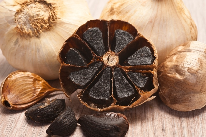 black garlic as a diet food
