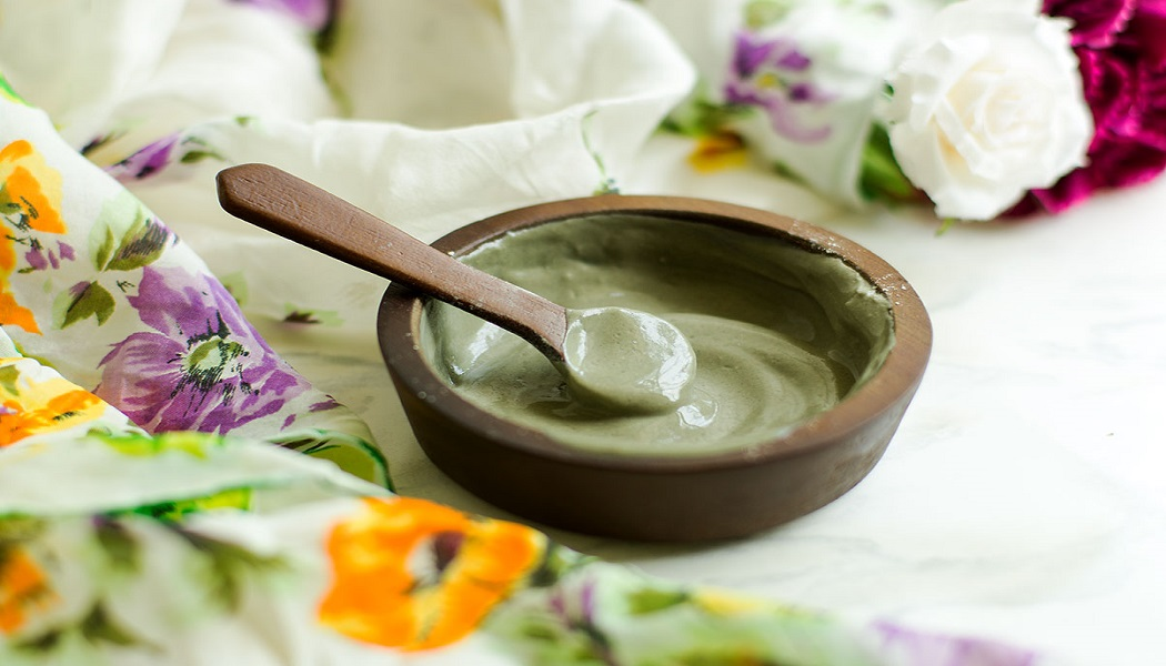 clay mask to get rid of crepey skin