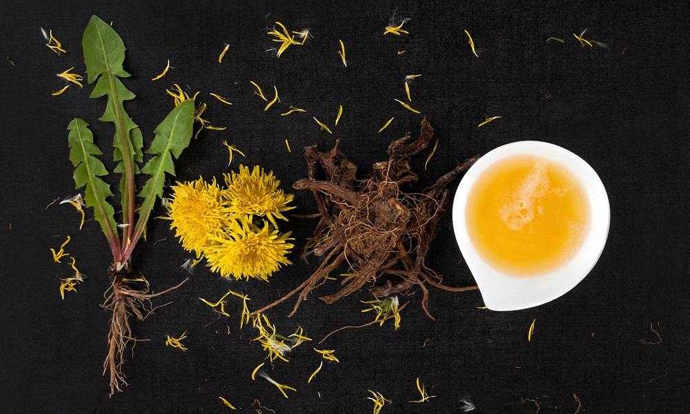 dandelion root for remove moles