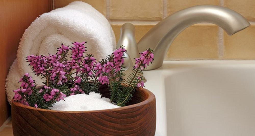 epsom salt bath to get rid of the diaper rash
