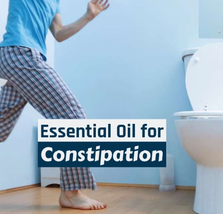 essential oil for constipation
