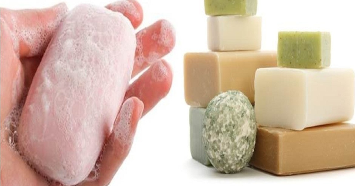 harsh cleansers and soaps