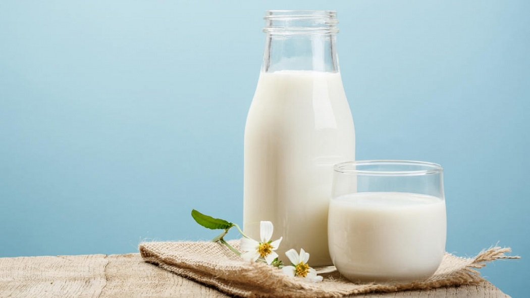 heal fever blisters on lips with milk