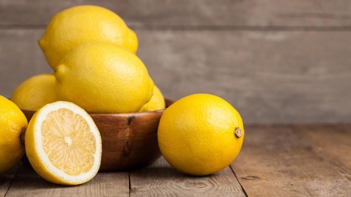 lemon for treat poison ivy rash