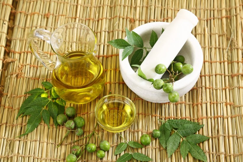 neem oil for warts
