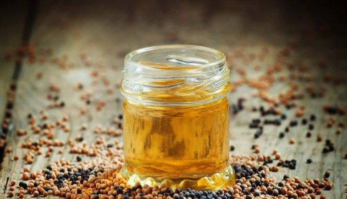 raw mustard oil for skin peeling