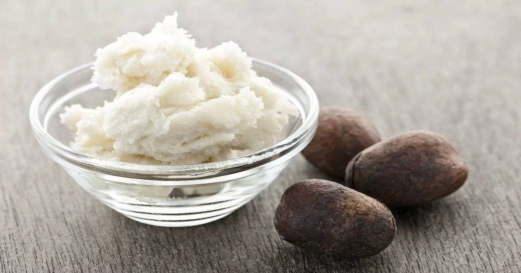 shea butter for the cure of dry skin