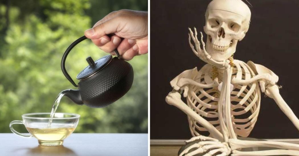 White tea helps to strengthen bones