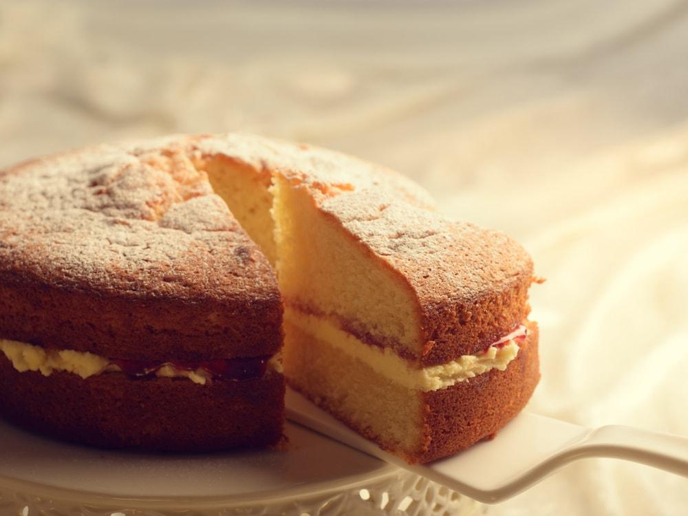 Butter Sponge Cake-min