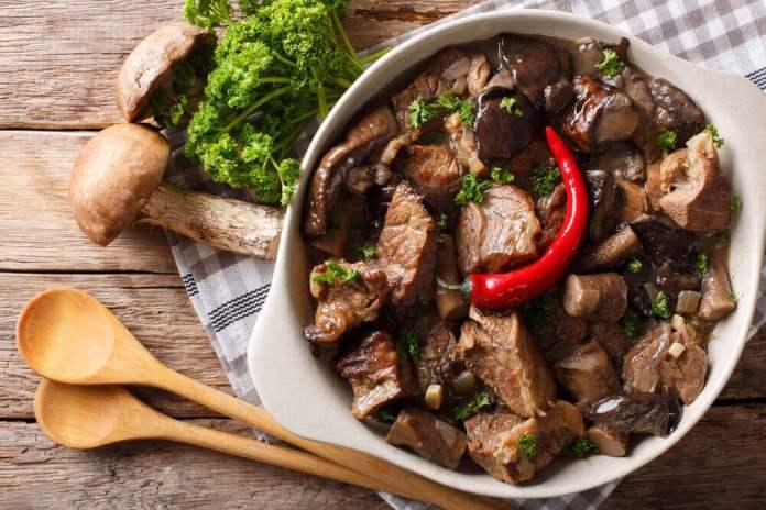 Reishi Mushroom Stew