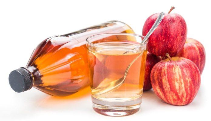 apple cider vinegar for large pores